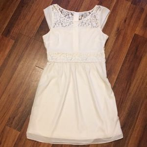 American Eagle Outfitters Cap Sleeve Lace Dress